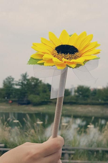Sunflower yellow Wedding Guest Book Pens,Rustic Wedding,Flower Pen,wedding pen,Wedding Decor,Rustic Pen Guest Book,Sunflower