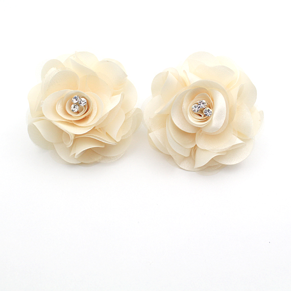 Yellow Bridal Shoe Clips,Shoe Clips,Wedding Clips, Bridal Shoe Accessories,wedding shoes corsage,shoes clip